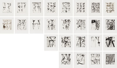 Brice Marden, 'Etchings to Rexroth', 1986