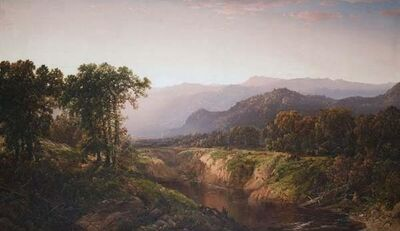 William Louis Sonntag, 'Autumn in the White Mountains', 1860-1870