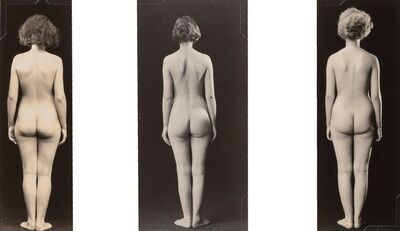 Albert Arthur Allen, 'Nudes Facing Away (Triptych)', circa 1920s