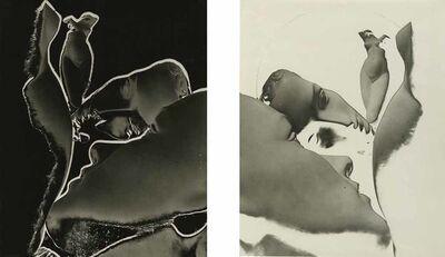 James Hamilton Brown, 'Solarizations, Blanc et Noir (Diptych)', 1940c/1940c
