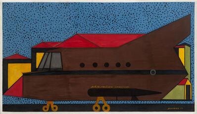 Alcides Pereira Dos Santos, 'Avião  de Vigilância Marítima', 1997