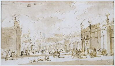 Francesco Guardi, 'Piazza San Marco'