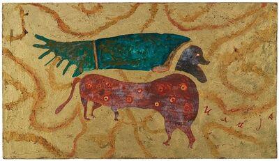 Ilija (Bosilj) Basicevic, 'From the Apocalypse: Animal with Human Head', 1965