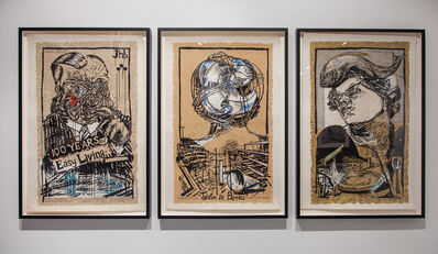William Kentridge, 'Art in a State of Siege, Art in a State of Hope, Art in a State of Grace', 1988