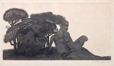 Laxma Goud, 'Nizampur II', 1975