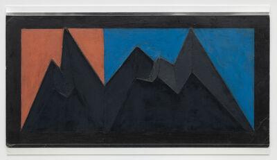 Mathias Goeritz, 'Boceto para Relieve citadino (Modelo para mural Torre Camerún)', 1985