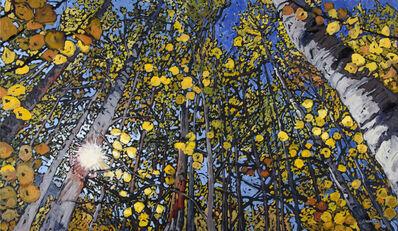 Deb Komitor, 'Gold Leaf Symphony', 2015