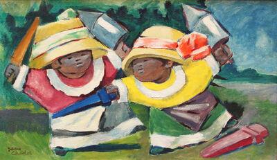 Jean Charlot, 'Danzantes (Malinches)', 1932