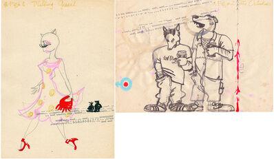 Itziar Bilbao Urrutia, 'Cat Calling Diptych', 1999
