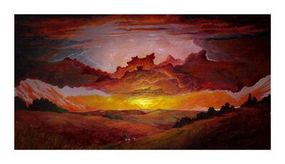 MacKenzie Thorpe, 'Over The Hills & Far Away', 2021