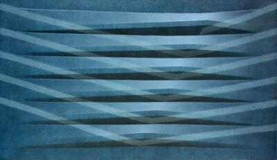 Agostino Bonalumi, 'Blu', 1981