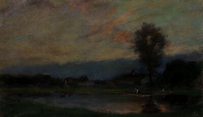 J. Frank Currier (Joseph Frank Currier), 'Gloaming', 1890