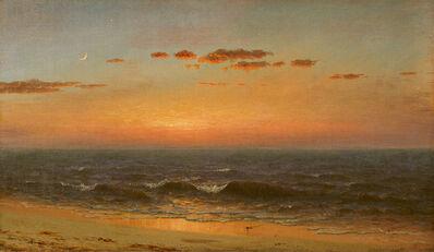 Sanford Robinson Gifford, 'Sunset', 1865