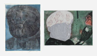 Jose Luis Cuevas, 'Coloso, from the Olympic Memories Portfolio, and Macbeth (two works)', 1988; 1989