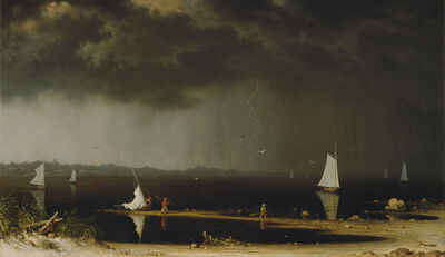 Martin Johnson Heade, 'Thunder Storm on Narragansett Bay', 1868