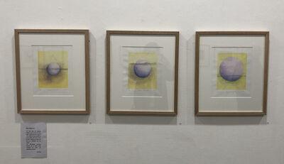 Jolanta Ewart, 'Moon Rising 1, 2, 3', 2020