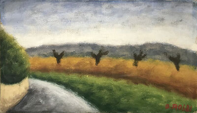 Ottone Rosai, 'Paesaggio', ca. 1953