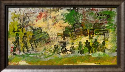 Purvis Young, 'War', 1988