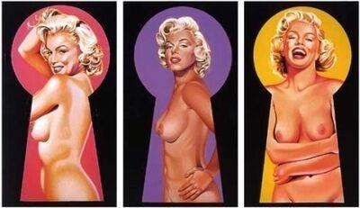 Mel Ramos, 'Peek a Boo Marilyn', 2002