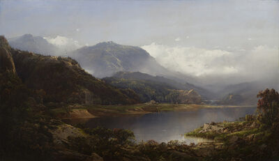William Louis Sonntag, 'Lakeside Landscape', ca. 1860