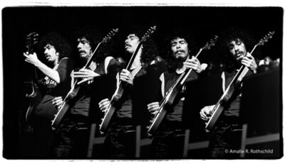 Amalie R. Rothschild, Jr., 'Carlos Santana at Fillmore East, April 3, 1971', 1971