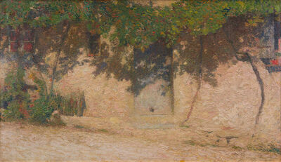 Henri Martin, 'La Cour de Jardin', 1860-1943