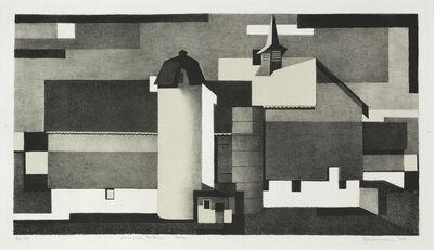 Benton Spruance, 'American Pattern - Barn', 1940