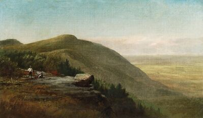 Ralph Albert Blakelock, 'Mist in the Valley ', Late 19th century