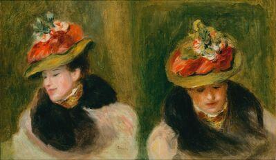 Pierre-Auguste Renoir, 'Double portrait de Jeanne Baudot', 1896