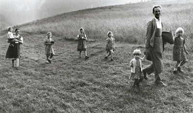 Gianni Berengo Gardin, 'Family with Six Daughters, Haute-Adige, Italy', 1967/1970s