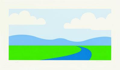 Julian Opie, 'Landscape ', 1995