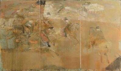 Leng Hong 冷宏, 'Playing Polo', 2012