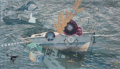 Yi Xin Tong, 'Abandoned Sunken Junkboat', 2018