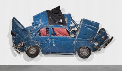 Ron Arad, 'Pressed Flower Petrol Blue', 2013
