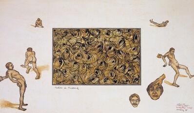 Yuksel Arslan, 'Arture 377, Cérébelleuxeuse, L'Homme', 1987