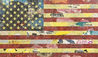 Greg Gossel, 'American Flag (Red, Yellow, Black)', 2010