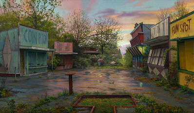 Scott Prior, 'Abandoned Amusement Park', 2019