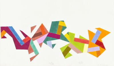 Mel Bochner, 'Segment Study', 1981