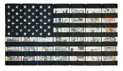 James Allen, 'Black Flag (1929 Britannica Flag)', 2019
