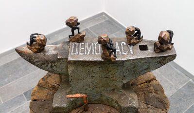 Pascale Marthine Tayou, 'Anvil of Democracy', 2018