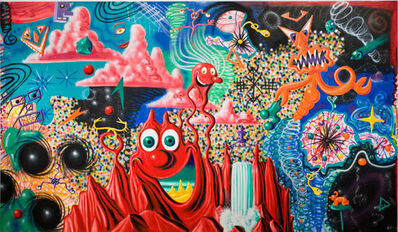 Kenny Scharf, 'When the Worlds Collide', 1984