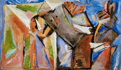 Marlen Spindler, 'Fantastic Brother', 1986