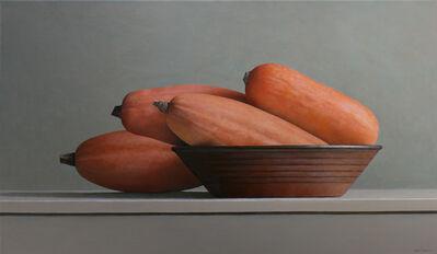 Janet Rickus, 'Banana Squash and Brown Bowl', 2015