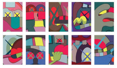 KAWS, 'Ups and Downs (portfolio of 10)', 2013