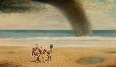 Guy Johnson, 'Mom and Me Gathering Sea Shells, Daytona Beach, Florida, 1936', 1998