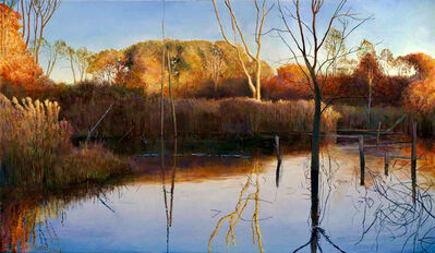 Art Chartow, 'Day's End at Haggerty's Pond', 2019