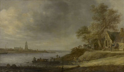 Jan van Goyen, 'View of Rhenen', 1641