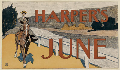 Edward Penfield, 'Harper's June 1898 - Horseback', 1898