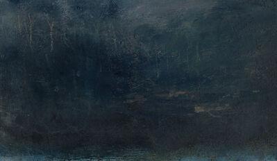 Nicholas Herbert, 'Landscape L1174 - View to a Wooded Hillside ', 2019