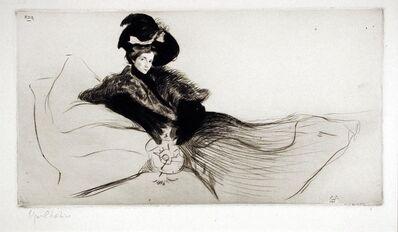 Edgar Chahine, 'Ada', 1901
